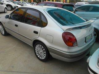 1998 Toyota Corolla AE112R Conquest Silver 5 Speed Manual Liftback