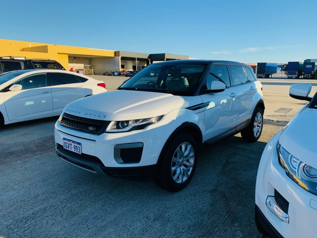 Used Land Rover Range Rover Evoque L538 MY16 TD4 150 SE Canning Vale, 2015 Land Rover Range Rover Evoque L538 MY16 TD4 150 SE White 9 Speed Sports Automatic Wagon