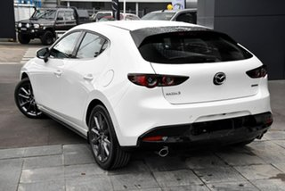 2021 Mazda 3 BP2H7A G20 SKYACTIV-Drive Touring White 6 Speed Sports Automatic Hatchback