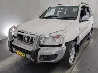 2008 Toyota Landcruiser Prado KDJ120R GX White 5 Speed Automatic Wagon.