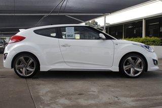 2012 Hyundai Veloster FS2 SR Coupe Turbo White 6 Speed Manual Hatchback.