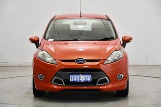 2012 Ford Fiesta WT Zetec Orange 5 Speed Manual Hatchback.