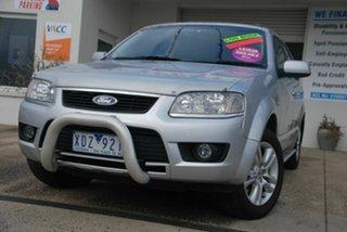 2009 Ford Territory SY MkII TX (RWD) Silver 4 Speed Auto Seq Sportshift Wagon.