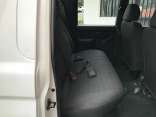 2006 Mitsubishi Triton MK MY06 GLX Double Cab White 5 Speed Manual Cab Chassis