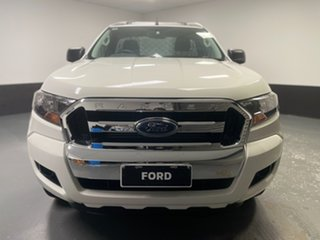 2016 Ford Ranger PX MkII XL Cool White 6 Speed Manual Cab Chassis.