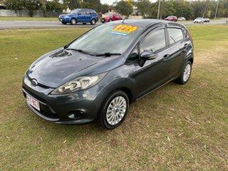 2012 Ford Fiesta WT LX PwrShift Grey 6 Speed Sports Automatic Dual Clutch Hatchback.