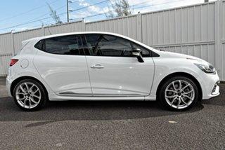2013 Renault Clio IV B98 R.S. 200 EDC Sport White 6 Speed Sports Automatic Dual Clutch Hatchback.