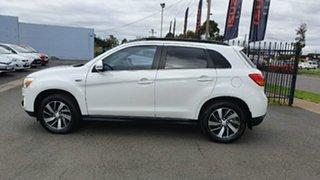 2014 Mitsubishi ASX XB MY14 2WD White 6 Speed Constant Variable Wagon