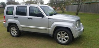 2012 Jeep Cherokee KK MY12 Limited Silver 4 Speed Automatic Wagon.