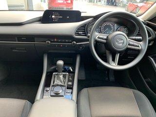 2021 Mazda 3 BP2S7A G20 SKYACTIV-Drive Pure Deep Crystal Blue 6 Speed Sports Automatic Sedan