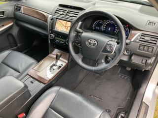 2013 Toyota Aurion GSV50R Presara Silver Pearl 6 Speed Automatic Sedan.