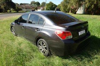 2015 Subaru Impreza G4 MY15 2.0i Lineartronic AWD Premium Grey 6 Speed Constant Variable Sedan.