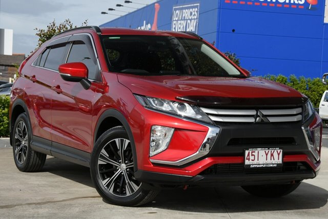 Used Mitsubishi Eclipse Cross YA MY18 ES 2WD Aspley, 2018 Mitsubishi Eclipse Cross YA MY18 ES 2WD Red Diamond 8 Speed Constant Variable Wagon