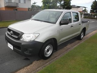 2009 Toyota Hilux TGN16R Workmate Silver 5 Speed Manual Dual Cab