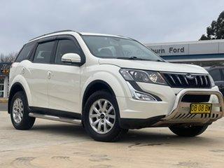 2016 Mahindra XUV500 W8 White Sports Automatic Wagon.