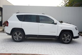 2014 Jeep Compass MK MY15 North CVT Auto Stick White 6 Speed Constant Variable Wagon.
