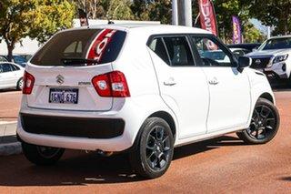 2018 Suzuki Ignis MF GLX White 1 Speed Constant Variable Hatchback.