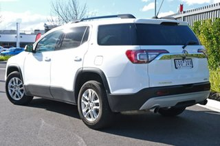 2018 Holden Acadia AC MY19 LT 2WD White 9 Speed Sports Automatic Wagon.