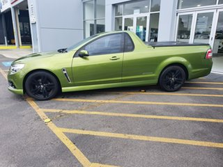 2015 Holden Ute VF MY15 SV6 Ute Storm Green 6 Speed Sports Automatic Utility