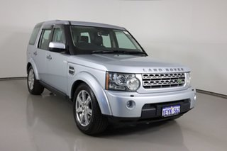 2009 Land Rover Discovery 4 MY10 2.7 TDV6 Silver 6 Speed Automatic Wagon.