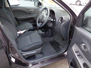 2011 Nissan Micra K13 ST Purple 4 Speed Automatic Hatchback