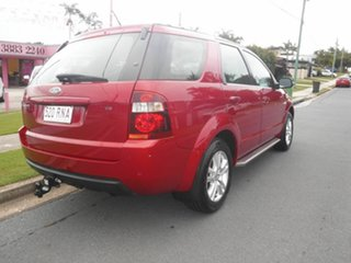 2009 Ford Territory SY MkII TS Red 6 Speed Automatic Wagon.