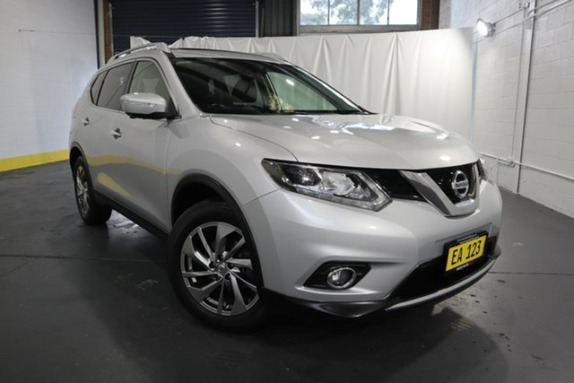 Used Nissan X-Trail T32 Ti X-tronic 4WD Castle Hill, 2015 Nissan X-Trail T32 Ti X-tronic 4WD Silver 7 Speed Constant Variable Wagon