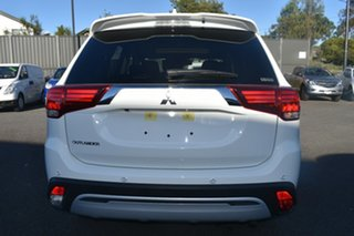 2019 Mitsubishi Outlander ZL MY20 Exceed AWD White 6 Speed Constant Variable Wagon
