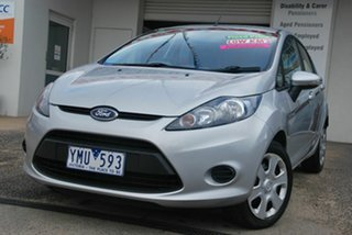 2011 Ford Fiesta WT CL Silver 6 Speed Automatic Hatchback.