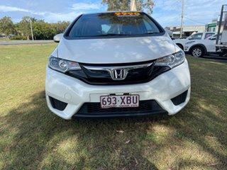 2017 Honda Jazz GF MY18 VTi White 1 Speed Constant Variable Hatchback