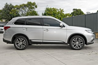 2017 Mitsubishi Outlander ZK MY17 LS 2WD Safety Pack Silver 6 Speed Constant Variable Wagon.