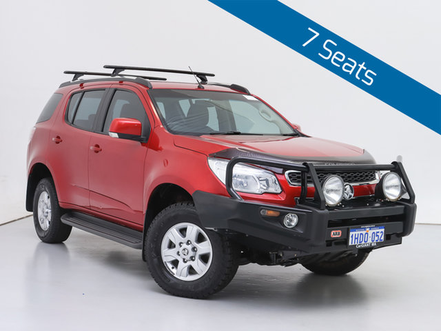 Used Holden Colorado 7 RG MY15 LT (4x4), 2015 Holden Colorado 7 RG MY15 LT (4x4) Red 6 Speed Automatic Wagon