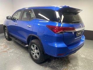 2015 Toyota Fortuner GUN156R GXL Blue 6 Speed Automatic Wagon
