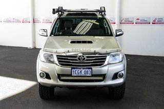 2012 Toyota Hilux KUN26R MY12 SR5 (4x4) Sterling Silver 4 Speed Automatic Dual Cab Pick-up.