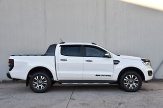 2019 Ford Ranger PX MkIII 2020.25MY Wildtrak White 6 Speed Sports Automatic Double Cab Pick Up.