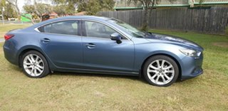 2013 Mazda 6 GJ1021 GT SKYACTIV-Drive Blue 6 Speed Sports Automatic Sedan.