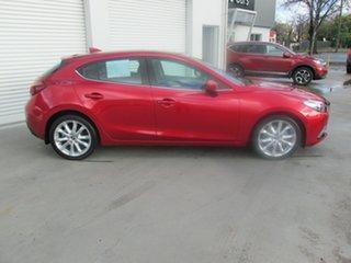 2016 Mazda 3 BM5438 SP25 SKYACTIV-Drive Astina Red 6 Speed Sports Automatic Hatchback.