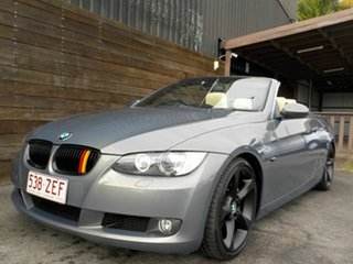 2007 BMW 3 Series E93 MY08 325i Steptronic Silver 6 Speed Sports Automatic Convertible.