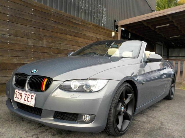 Used BMW 3 Series E93 MY08 325i Steptronic Labrador, 2007 BMW 3 Series E93 MY08 325i Steptronic Silver 6 Speed Sports Automatic Convertible