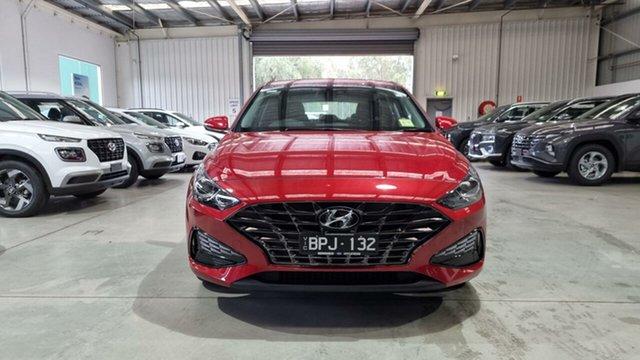 Demo Hyundai i30 PD.V4 MY21 Active Epsom, 2021 Hyundai i30 PD.V4 MY21 Active Fiery Red 6 Speed Sports Automatic Hatchback