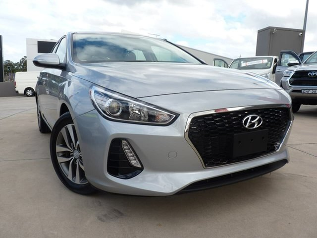 Pre-Owned Hyundai i30 PD2 MY19 Active Blacktown, 2019 Hyundai i30 PD2 MY19 Active Typhoon Silver 6 Speed Sports Automatic Hatchback