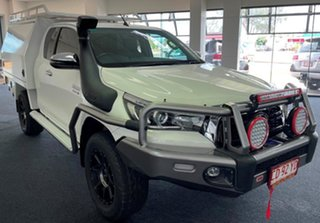 2020 Toyota Hilux GUN126R SR5 Extra Cab White 6 Speed Sports Automatic Utility.