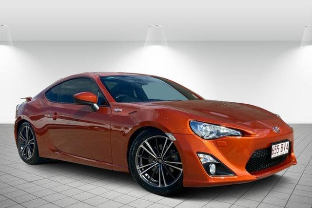 Used Toyota 86 ZN6 GTS Hervey Bay, 2015 Toyota 86 ZN6 GTS Orange 6 Speed Sports Automatic Coupe