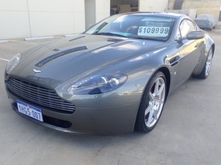 2007 Aston Martin V8 Vantage Lightning Silver 6 Speed Manual Coupe.