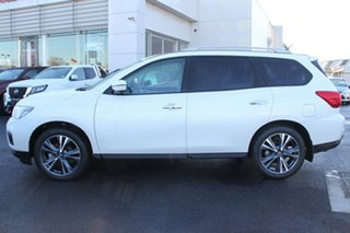 2020 Nissan Pathfinder R52 Series III MY19 Ti X-tronic 4WD White 1 Speed Constant Variable Wagon