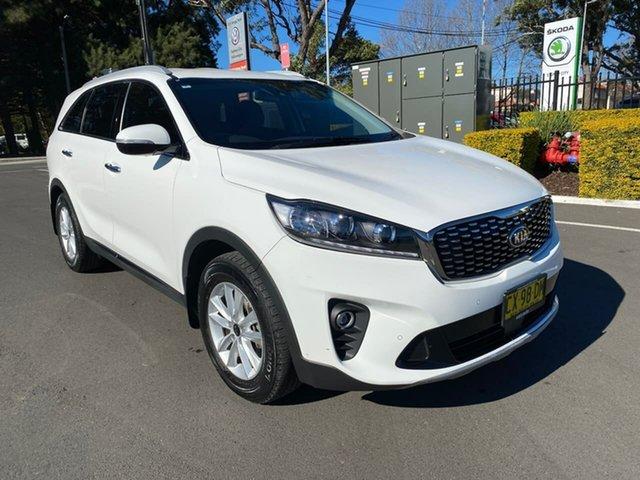 Used Kia Sorento UM MY19 SI Botany, 2018 Kia Sorento UM MY19 SI White 8 Speed Sports Automatic Wagon