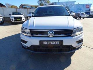 2017 Volkswagen Tiguan 5N MY17 110TDI DSG 4MOTION Comfortline Pure White 7 Speed Automatic Wagon