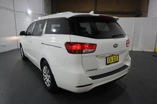 2017 Kia Carnival YP MY17 S White 6 Speed Sports Automatic Wagon