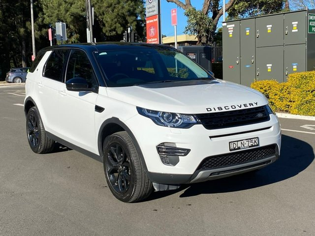 Used Land Rover Discovery Sport L550 17MY HSE Botany, 2016 Land Rover Discovery Sport L550 17MY HSE White 9 Speed Sports Automatic Wagon