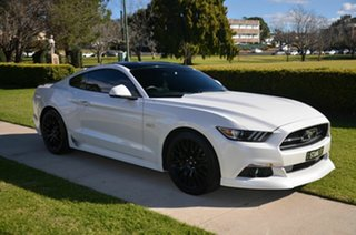 2016 Ford Mustang FM Fastback GT 5.0 V8 White 6 Speed Manual Coupe.